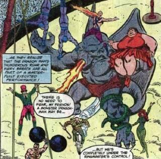 Dragon Man with the Circus of Crime.