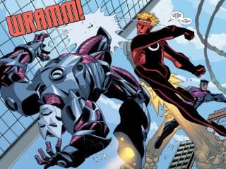 Freedom Ring against Iron Maniac