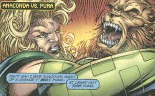 Anaconda faces off against Puma.