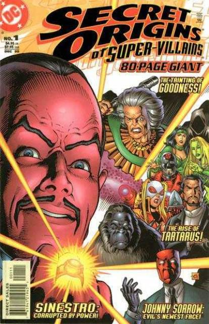 Secret Origins of Super Villains