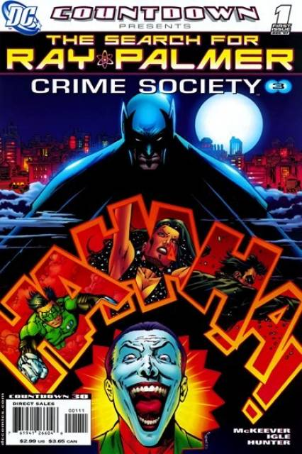 Countdown Presents: The Search for Ray Palmer: Crime Society