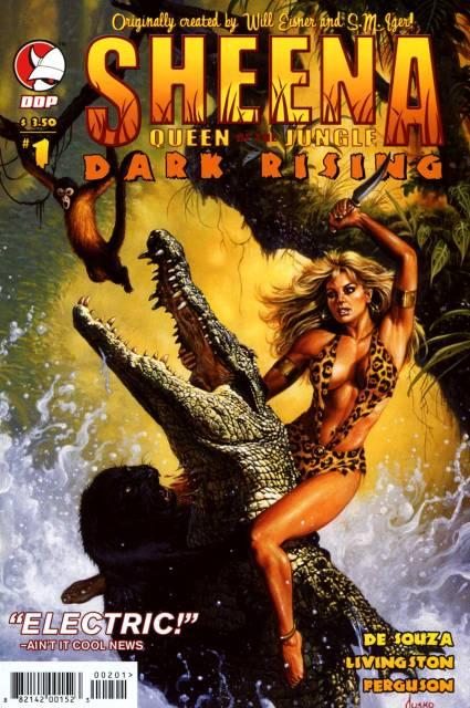 Sheena Queen Of The Jungle: Dark Rising