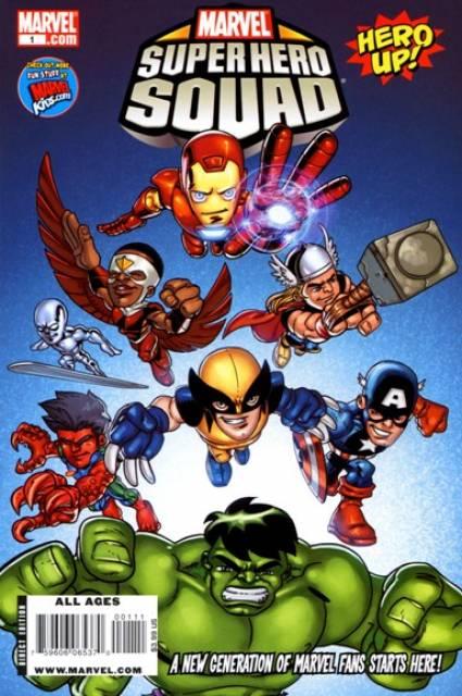 Marvel Super Hero Squad Hero Up