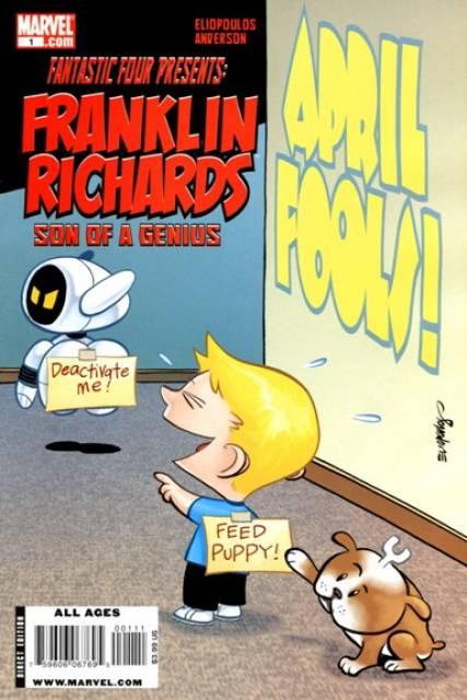 Franklin Richards: April Fools