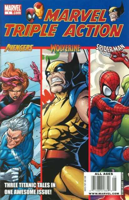 Marvel Triple Action