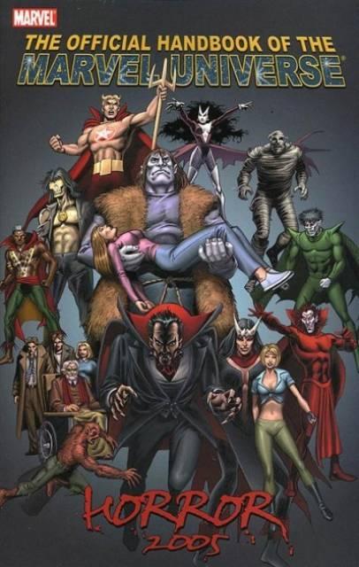 Official Handbook of the Marvel Universe: Horror 2005
