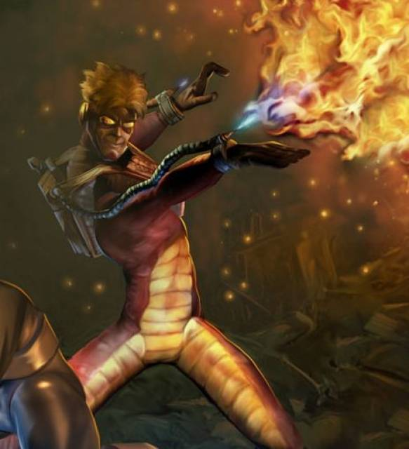Pyro in X-Men Legends 2