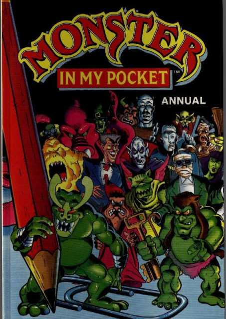 Monster in My Pocket Annual