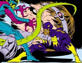Cottonmouth and Death Adder killing MODOK.