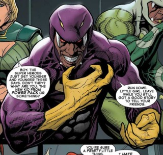 Cottonmouth taunts Hope Summers.