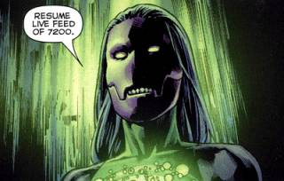 forced to become and Alpha Lantern against her will