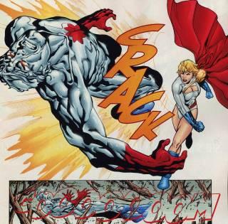 Captain Atom Versus Power Girl