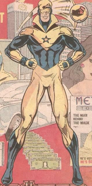 Begins his Super-Hero Career