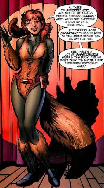 Modern Day Squirrel Girl