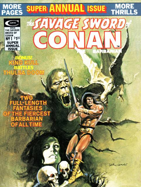 Savage Sword of Conan Special