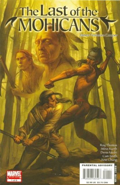 Marvel Illustrated: Last Of The Mohicans
