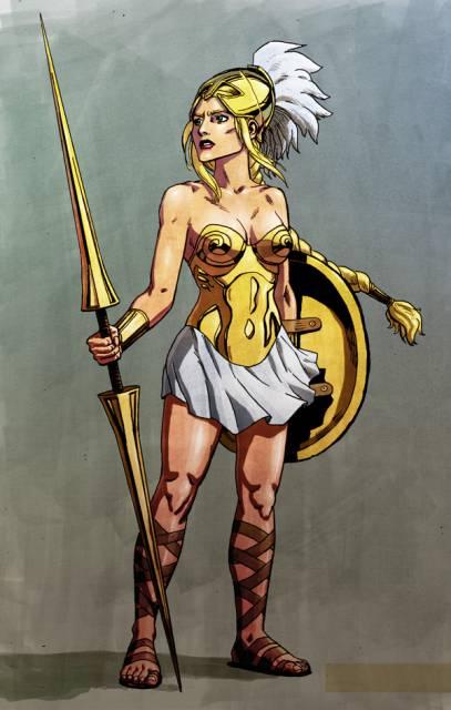 Athena Goddess Of Wisdom (Marvel Comics)
