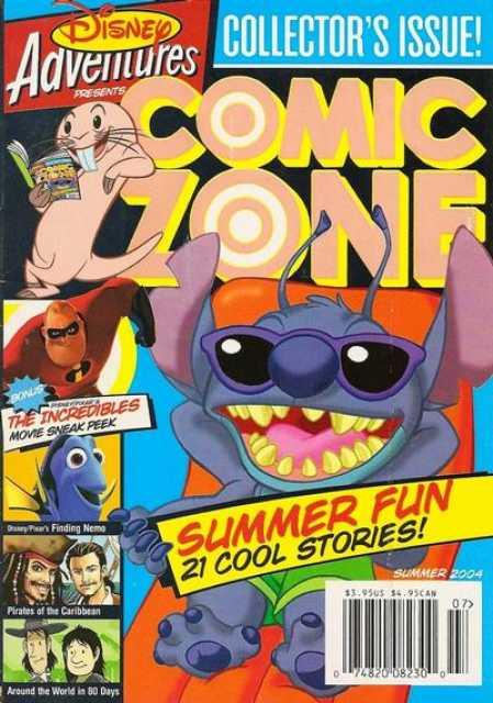 Disney Adventures Comic Zone