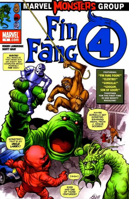 Marvel Monsters: Fin Fang 4
