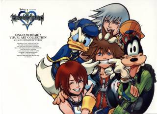 Kingdom Hearts Visual Art Collection