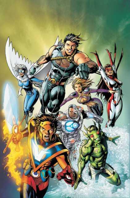 Cyborg's Titans East