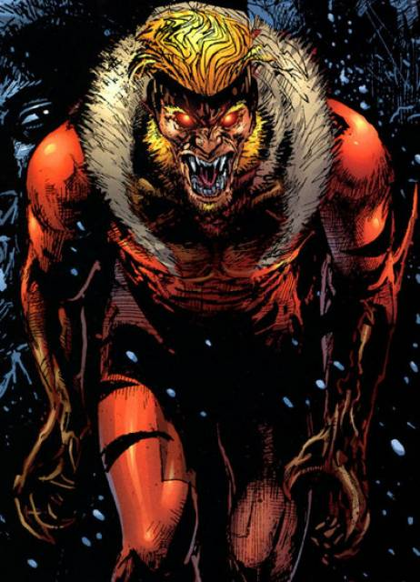 Sabretooth - Feral and Ferocious!
