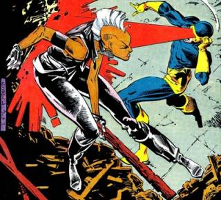 The duel for leadership of the X-Men
