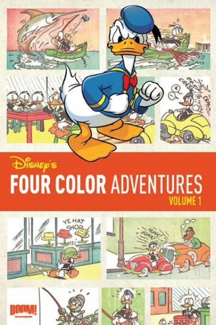 Disney's Four Color Adventures