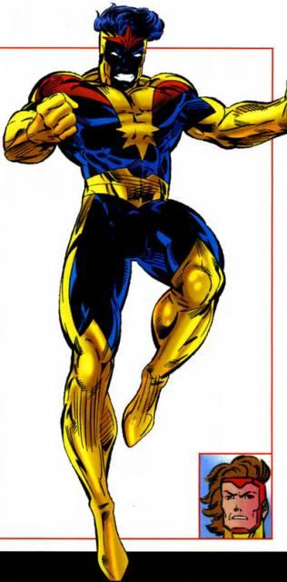 Garthan as Nova Omega
