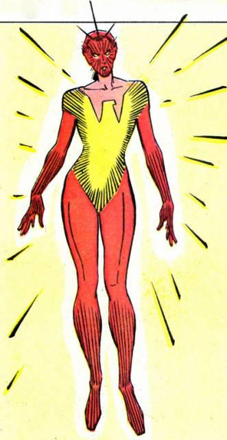 Rachel as Phoenix