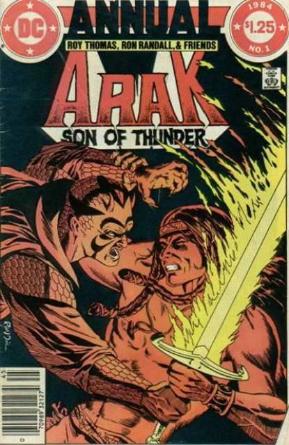 Arak Son Of Thunder Annual