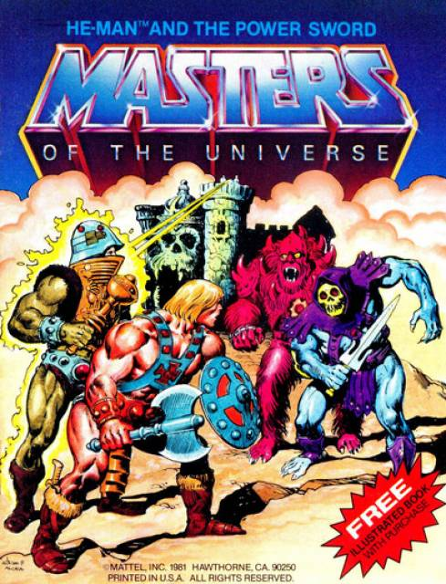 Masters of the Universe minicomic
