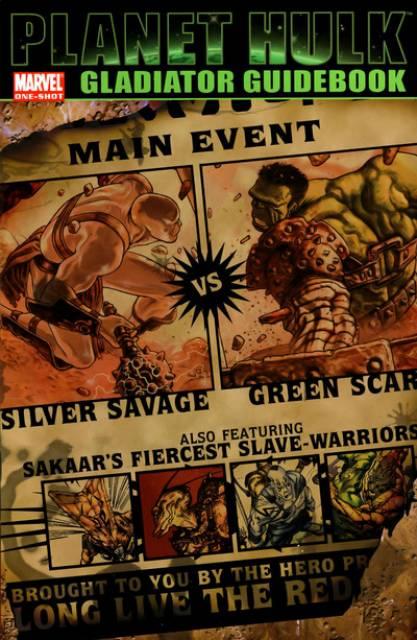 Planet Hulk: Gladiator Guidebook