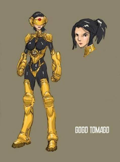 Go Go Tomago Costume Redesign