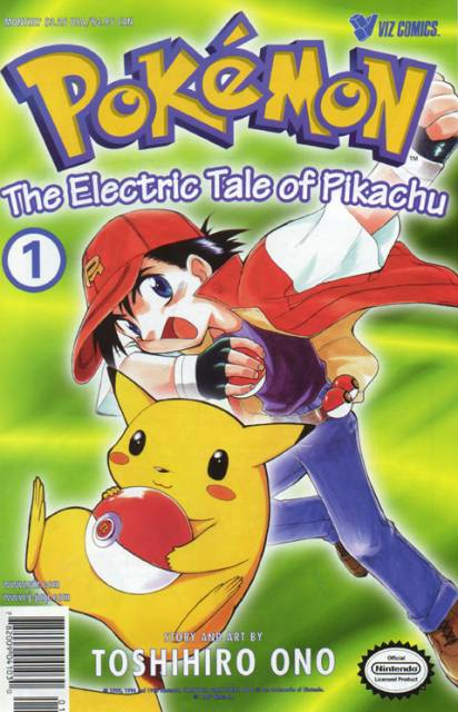 Pokemon: The Electric Tale of Pikachu