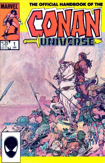 The Handbook of the Conan Universe