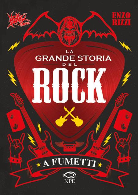 Heavy Bone – La Grande Storia del Rock a Fumetti