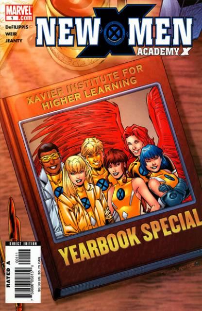 New X-Men: Academy X Yearbook