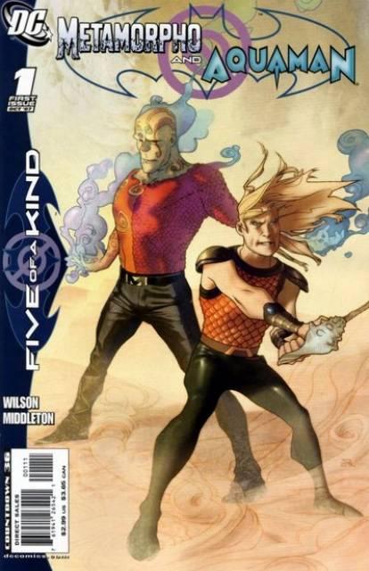 Outsiders: Five of a Kind - Metamorpho/Aquaman