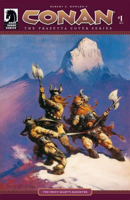 Conan: The Frazetta Cover Series