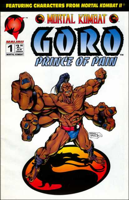 Mortal Kombat: Goro, Prince of Pain