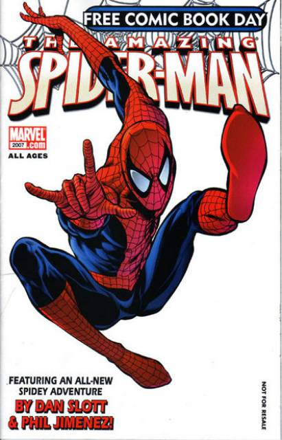 Free Comic Book Day 2007 (Spider-Man)