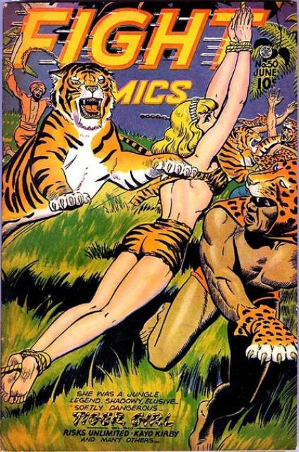 Fight Comics #50 (1947): Typical