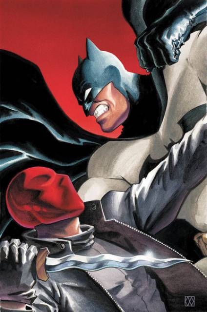 Batman vs Red Hood