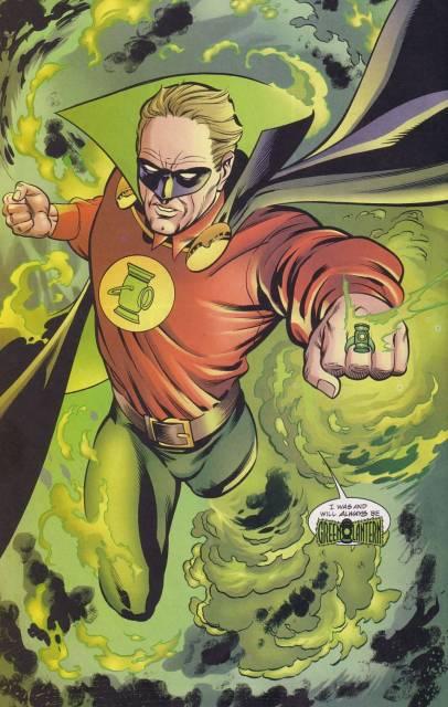 Green Lantern / Sentinel (New Earth)