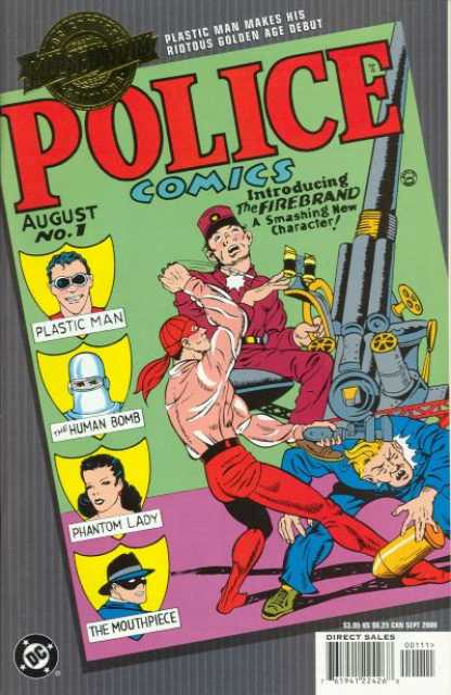 Millennium Edition: Police Comics 1
