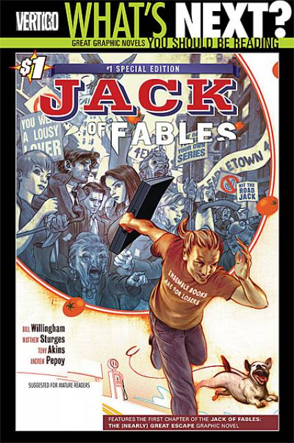 Jack of Fables #1 Special Edition