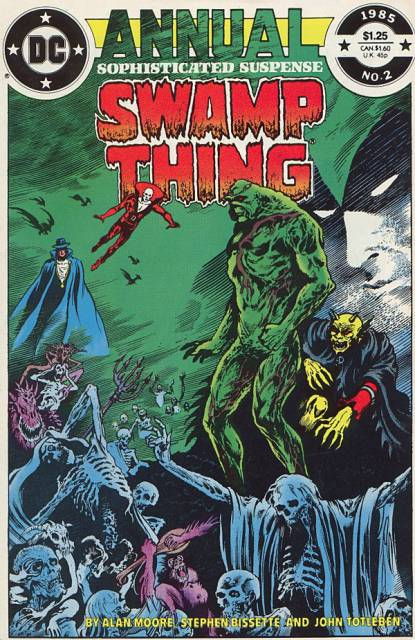 Swamp Thing Annual