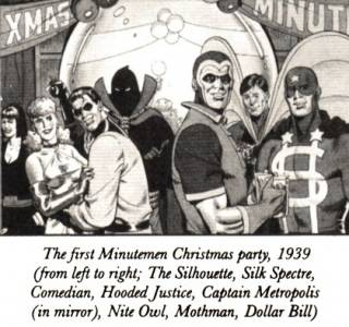 Minute Men In Comics