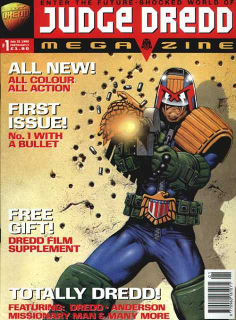 Judge Dredd: The Megazine